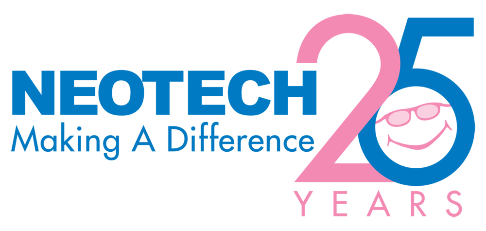 neotech_25th_logo